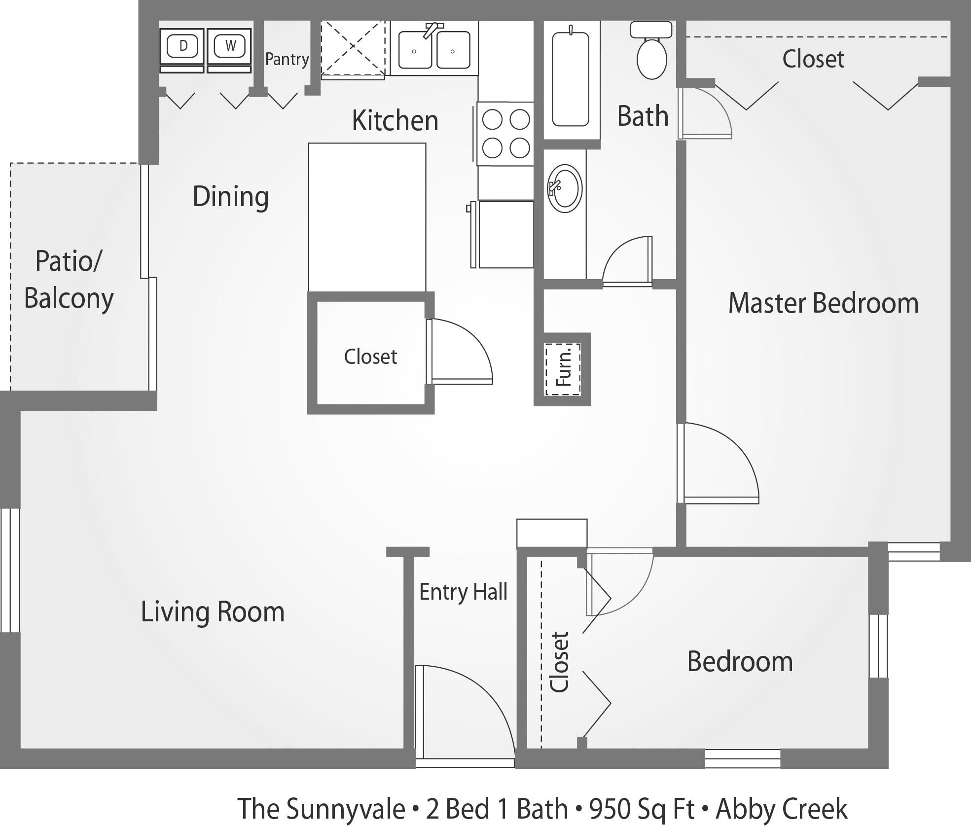 Apartments In Carmichael, CA, 1 Bedroom Apartments